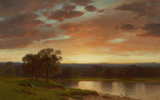 , 'Twilight, Valley of the Genesee,' , Questroyal Fine Art