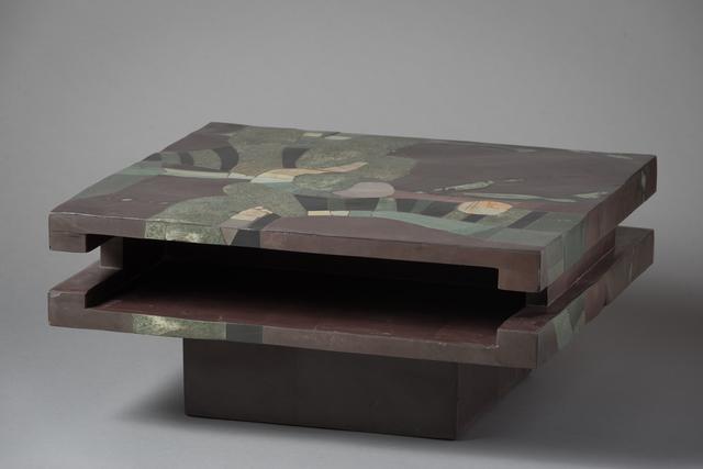 "Pierre-Elie Gardette, '""Abstract Table""', 1971, Lebreton"