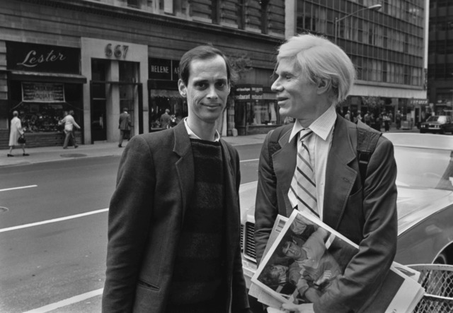 , 'AW and John Waters on Madison Av. 1981,' 2015, Maison Gerard