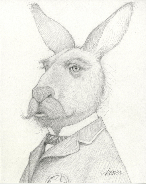 Travis Louie, 'Kangaroo Marshall', 2019, Haven Gallery