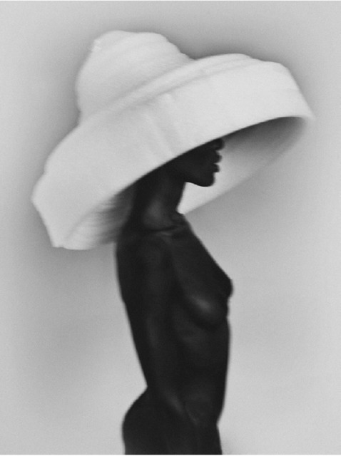 , 'Tino White Hat,' 2018, Atlas Gallery