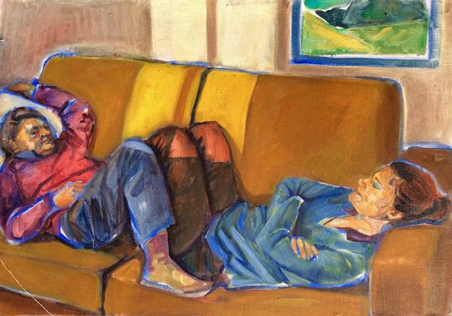 , 'Vieux couple,' 2019, Le Feuvre & Roze