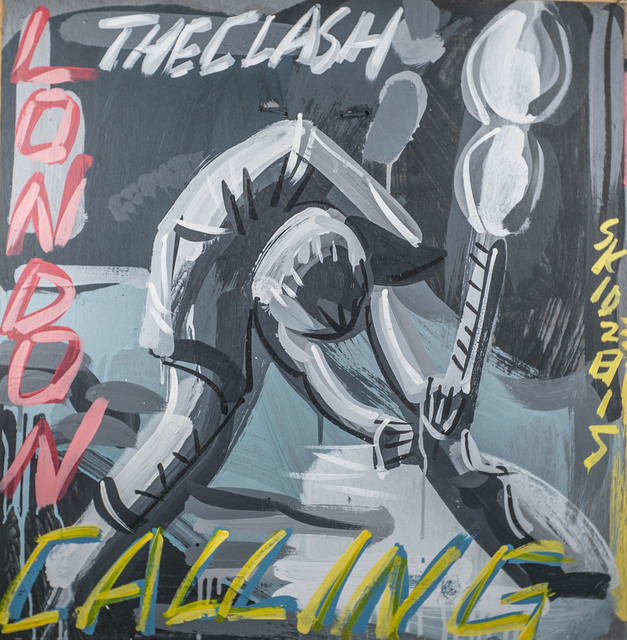 Steve Keene, 'The Clash - London Calling', 2015, Subliminal Projects