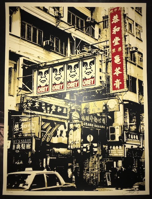 """Shepard Fairey, '""""Hong Kong Visual Disobediance""""', 2016, New Union Gallery"""
