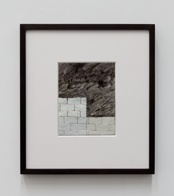 , '3 Brick Sections (White),' 2015, Tatjana Pieters