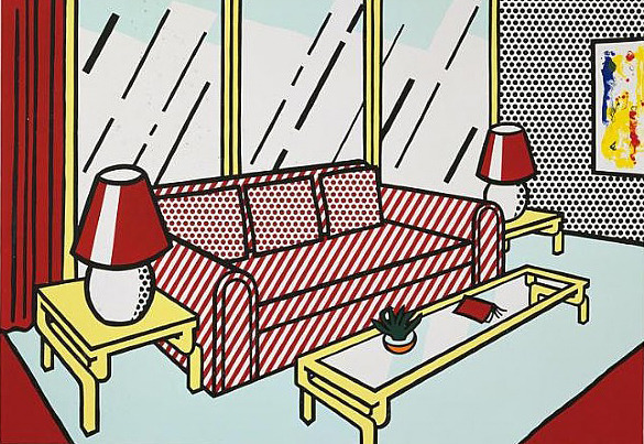 , 'Red Lamps,' 1990, Susan Sheehan Gallery