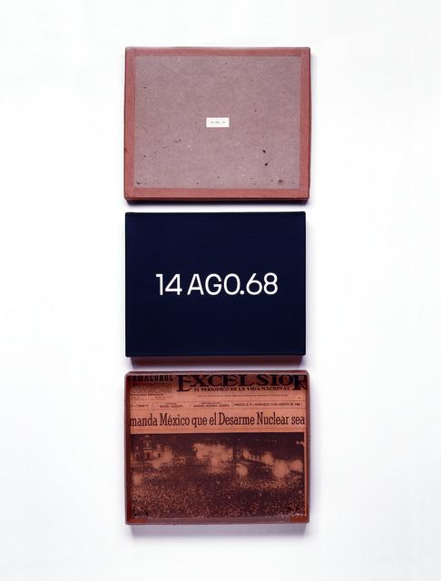 , '14 AGO.68 Decenas de millares de uruguayos desfilaron...,' 1968, Museo Jumex