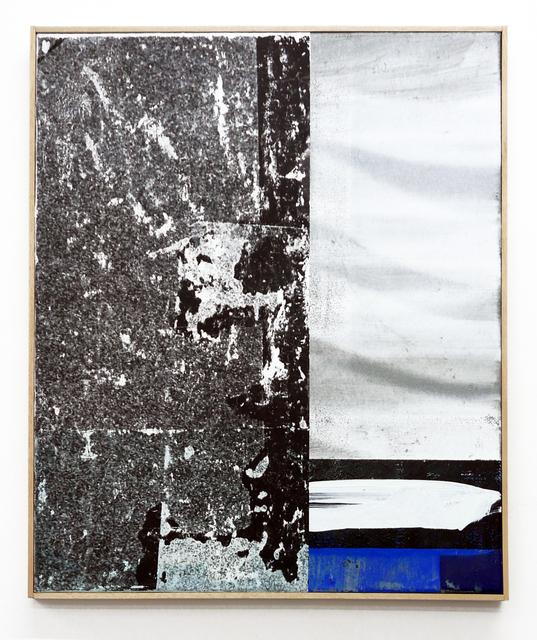 , 'Sharing Smoke,' 2017, Parafin