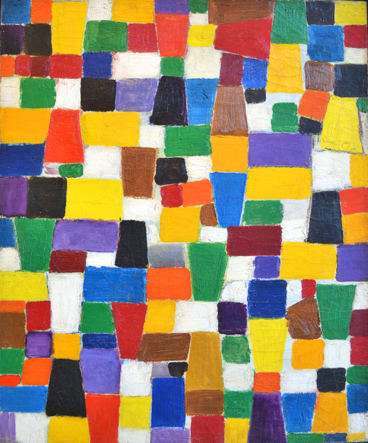 , 'Pre-Mosaic Squares #4,' 1922-1958, Bookstein Projects