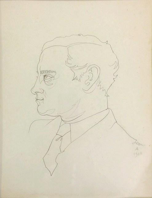 , 'Portrait de Georges Hugnet ,' 1944, Arts et Autographes