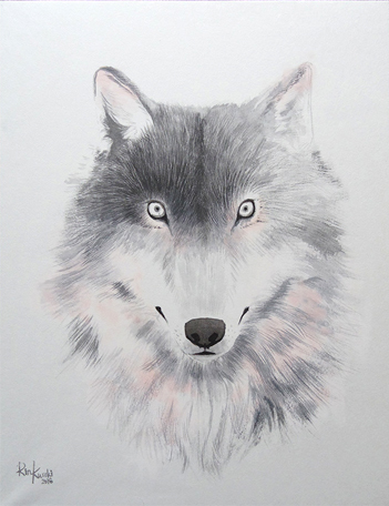 , 'Wolf,' 2016, Mottas