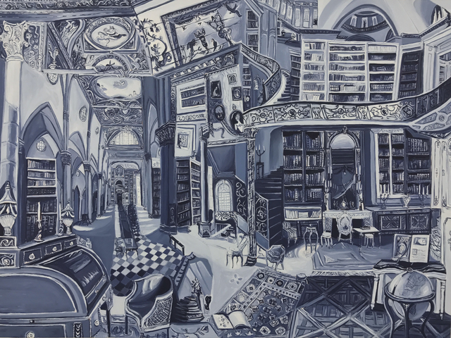 , 'Philosopher with an Open Book,' 2017, SILAS VON MORISSE gallery