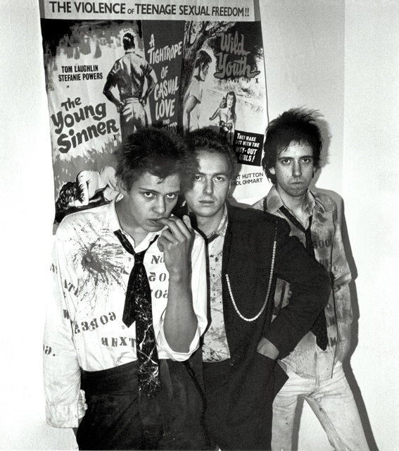 Sheila Rock, 'The Clash, London', ca. 1976, ElliottHalls
