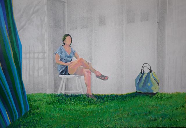 , 'Grass in New York,' 2016, Powen Gallery
