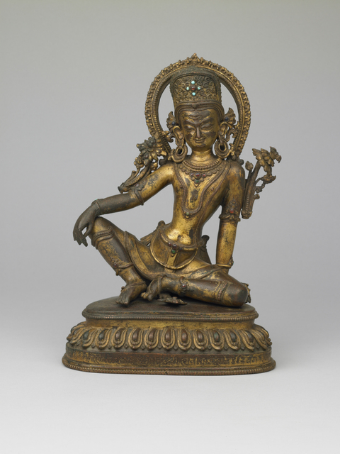 , 'Indra,' 15th century, Rubin Museum of Art