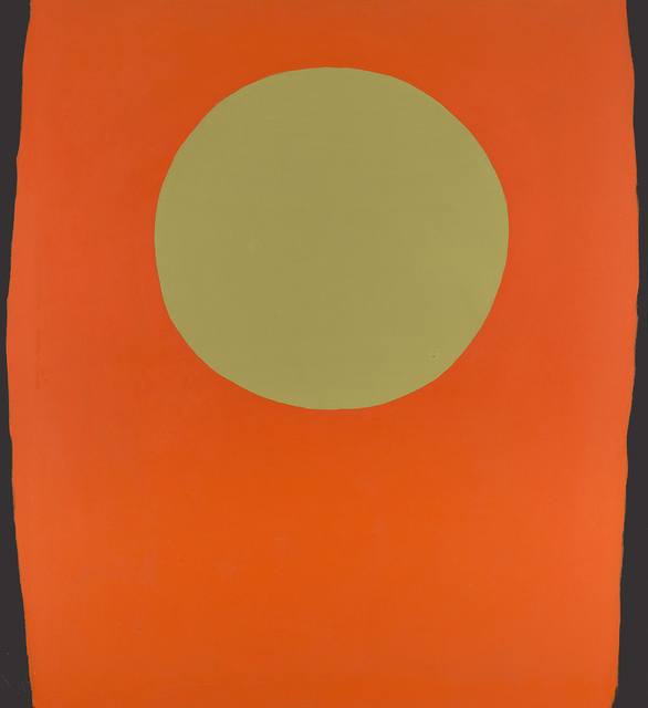 , 'Orange Blacksides,' 1959, Berry Campbell Gallery