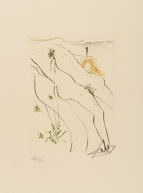 Salvador Dalí, 'Le Tonneau (M & L 558; Field 72-8-G)', 1972, Forum Auctions