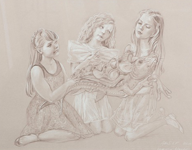 , 'Inverso Mundus, Girls & Chimeras #2,' 2015, Galeria Senda