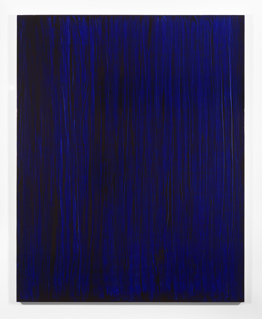 , 'Monochrome - Echantillon Blue «à la française test»,' 2013, Thomas Dane Gallery