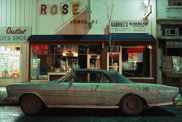 , 'Rose Jeweler's Car, Ford Galaxie 500 XL (1966), Troy, NY,' 1975, Jackson Fine Art