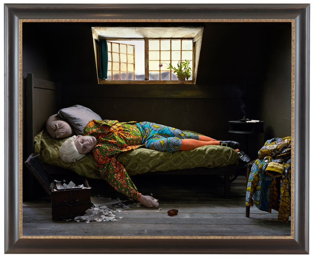 , 'Fake Death Picture (The Death of Chatterton – Henry Wallis),' 2011, Goodman Gallery