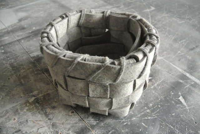 , 'Basket For Catching Tears,' 2015, Galerie Hugues Charbonneau