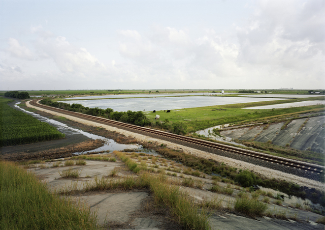 , 'Untitled (Train Tracks), Port Lavaca, Texas,' 2015, Yancey Richardson Gallery