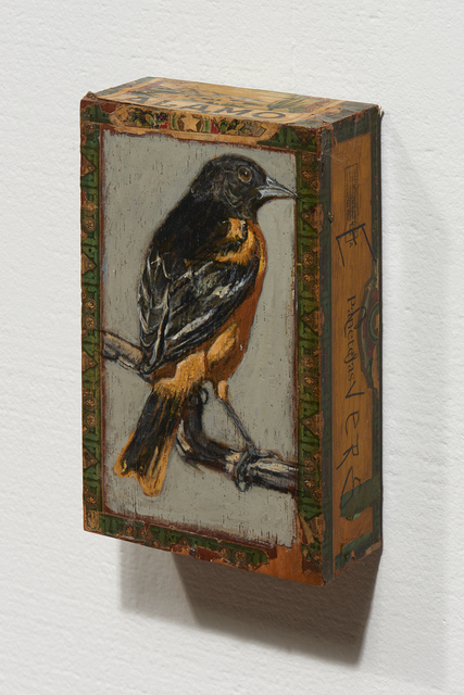 , 'Baltimore Oriole / Alamo,' 2010, Paul Thiebaud Gallery