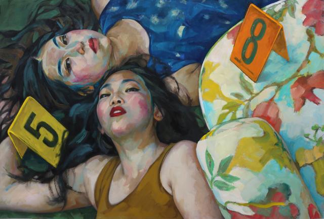 , 'Lucky Number,' 2016, Dominik Mersch Gallery
