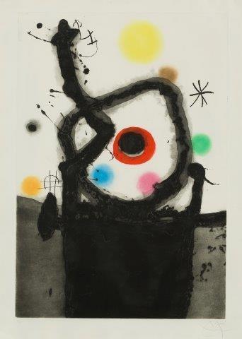 Joan Miró, 'Le Rebelle [Dupin 439]', 1967, Roseberys