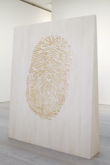 , 'Fingerprint / Black Square,' 2014, Galerie Forsblom