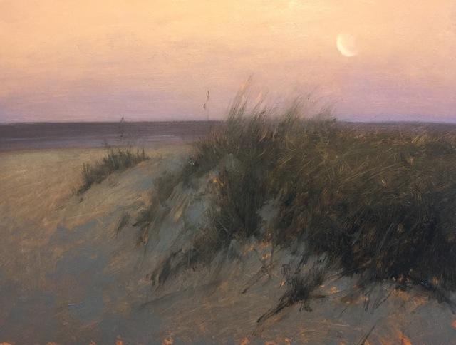 , 'Dunes at Moonrise,' 2018, Addison Art Gallery