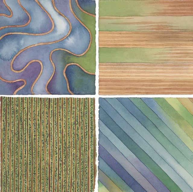 Elaine Bowers, 'Earth Quilt 1', Sparrow Gallery