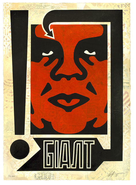 Shepard Fairey, 'Exclamation', 2019, Samuel Owen Gallery