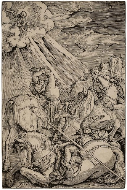 , 'The Conversion of Saint Paul,' ca. 1515-16, David Tunick, Inc.