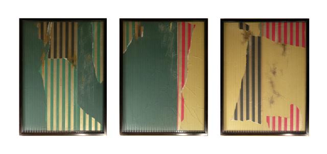 , 'Pared y Ventana # 1, 2 y 3,' 2013, Nora Fisch