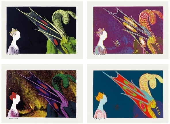 Andy Warhol, 'Details of Renaissance Paintings (Paolo Uccello, St. George and the Dragon)', 1984, Schellmann Art