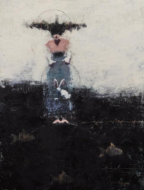 Cathy Hegman, 'RiverDeep Rabbit Trick', 2019, Sue Greenwood Fine Art