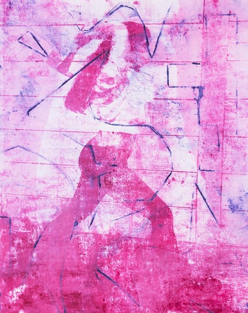 Eric Sanders, 'Small Axe', 2021, Print, Monoprint on paper, Cross Contemporary Partners