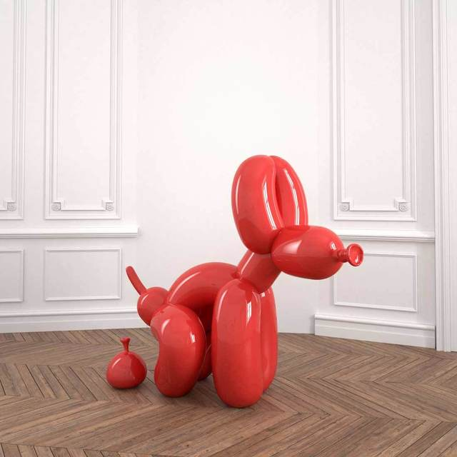 , 'POPek Red 120,' 2018, Catto Gallery