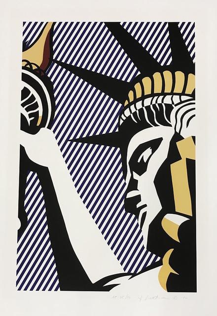 Roy Lichtenstein, 'I Love Liberty', 1982, Gallery HAAS & GSCHWANDTNER