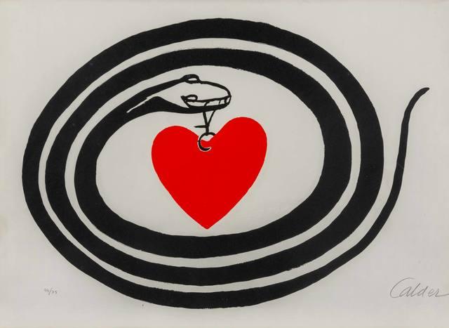 Alexander Calder, 'Mois Mondial du Coeur', 1972, ArtRite