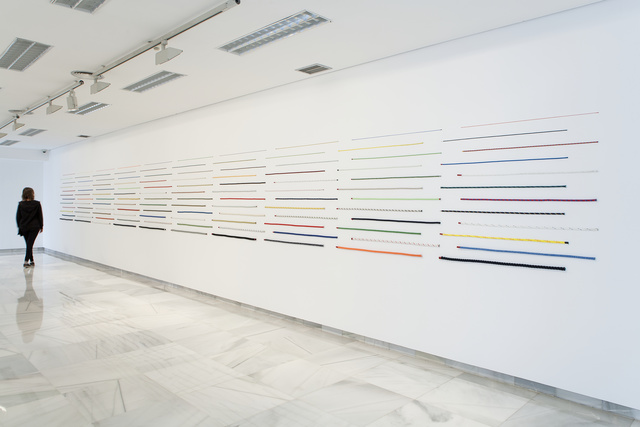 , '120 Cords (Handmade),' 2014, White Cube