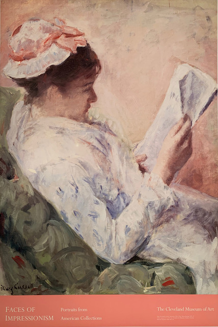 Mary Cassatt, 'Faces of Impressionism, Portraits from American Collections, The Cleveland Museum of Art, HOLIDAY SALE $50 OFF THRU MAKE OFFER', unknown, David Lawrence Gallery
