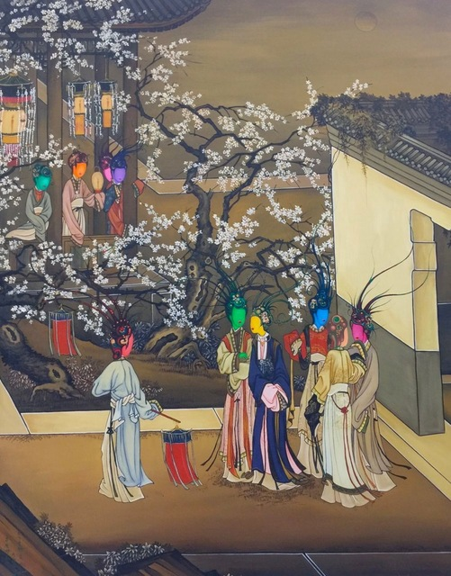 , 'Ancient Organisms Series- Painting of Court Ladies II,' , Yang Gallery