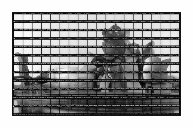 , '38#10 Guggenheim Bilbao, BW-Print,' 2003, Circle Culture