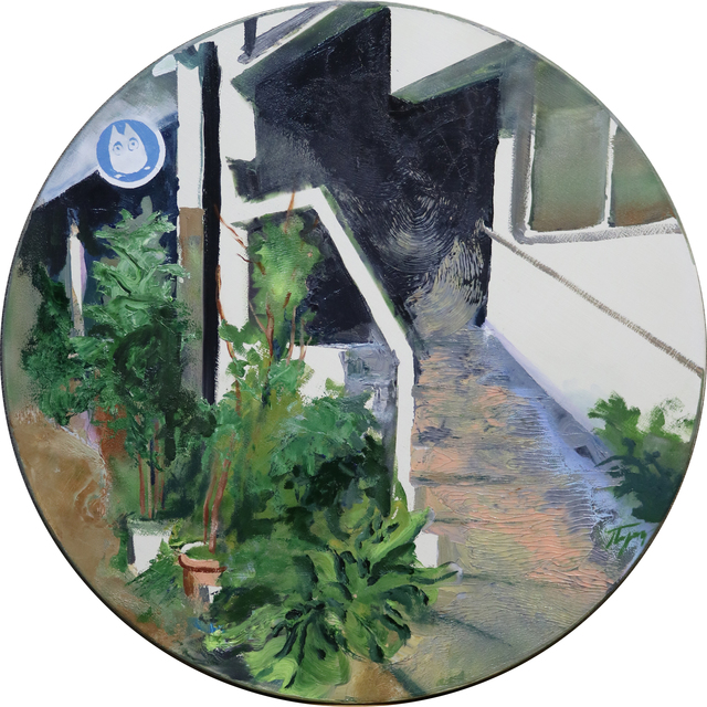 ", 'Series ""Studio"". Studio Ghibli.,' 2017, Marina Gisich Gallery"