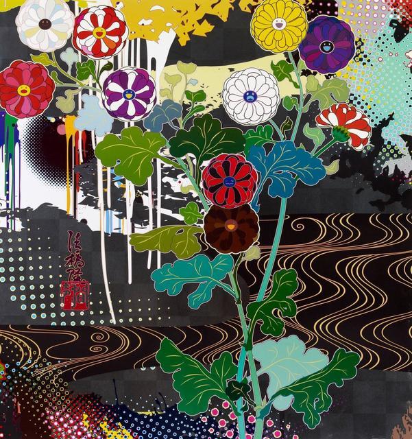 Takashi Murakami, 'Kansei Platinum', 2009, Hang-Up Gallery