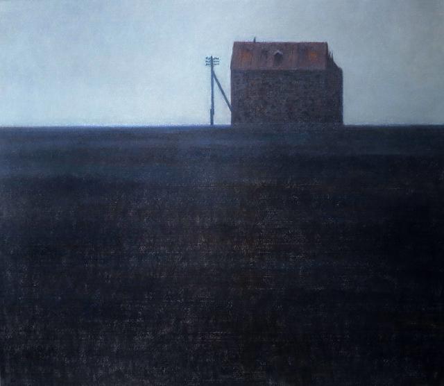 """, '""""Red Roof"""" / """"Kırmızı Çatı"""",' 2007, Galeri 77"""