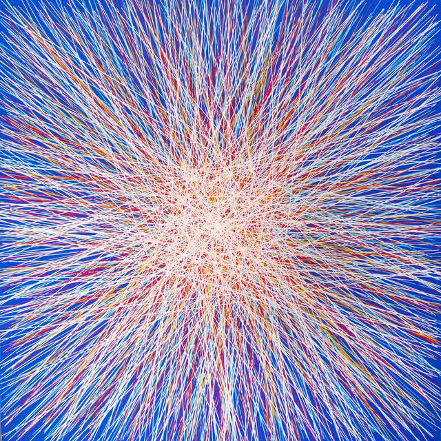 , 'Blue Flare,' 2013, Newzones